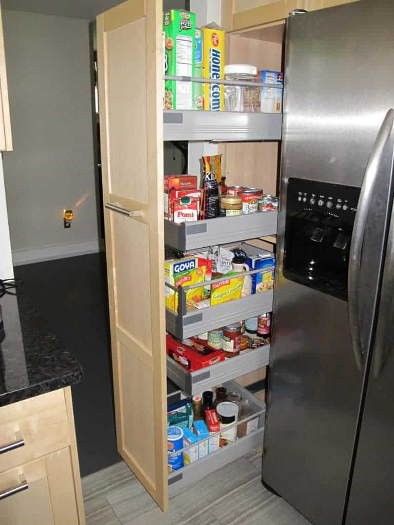 Modify Kitchen Cabinet For Tall Refrigerator