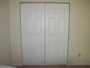 But She Opted For Sliding Doors In The Hallway Closet. I Built Her Two  Panel Sliding Doors With 1×4 Select Pine And 1/4 Inch Hardwood Plywood With  The ...