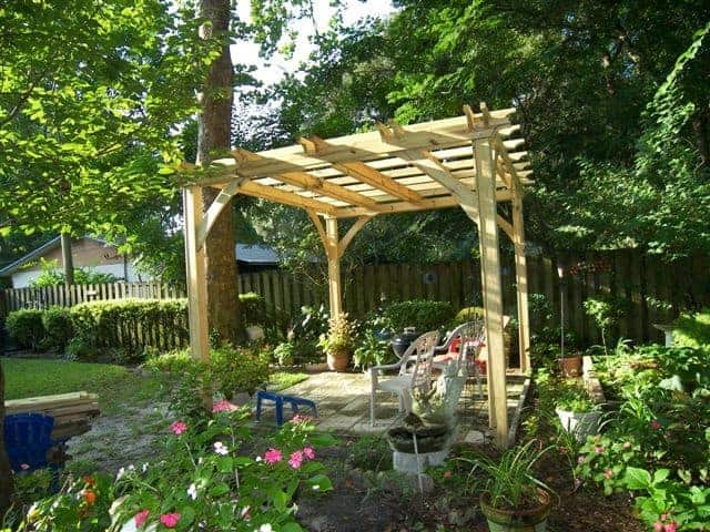 Pergola gatormod for Pergola images houzz