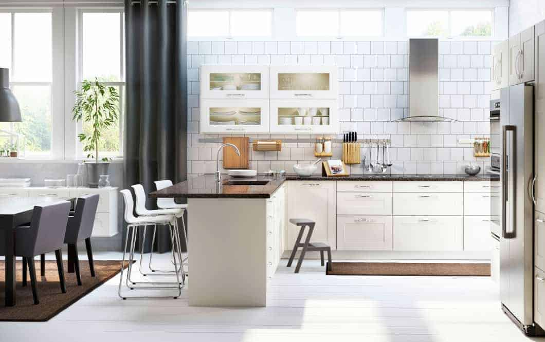 ikea kitchen cabinets how much will it really cost. Black Bedroom Furniture Sets. Home Design Ideas